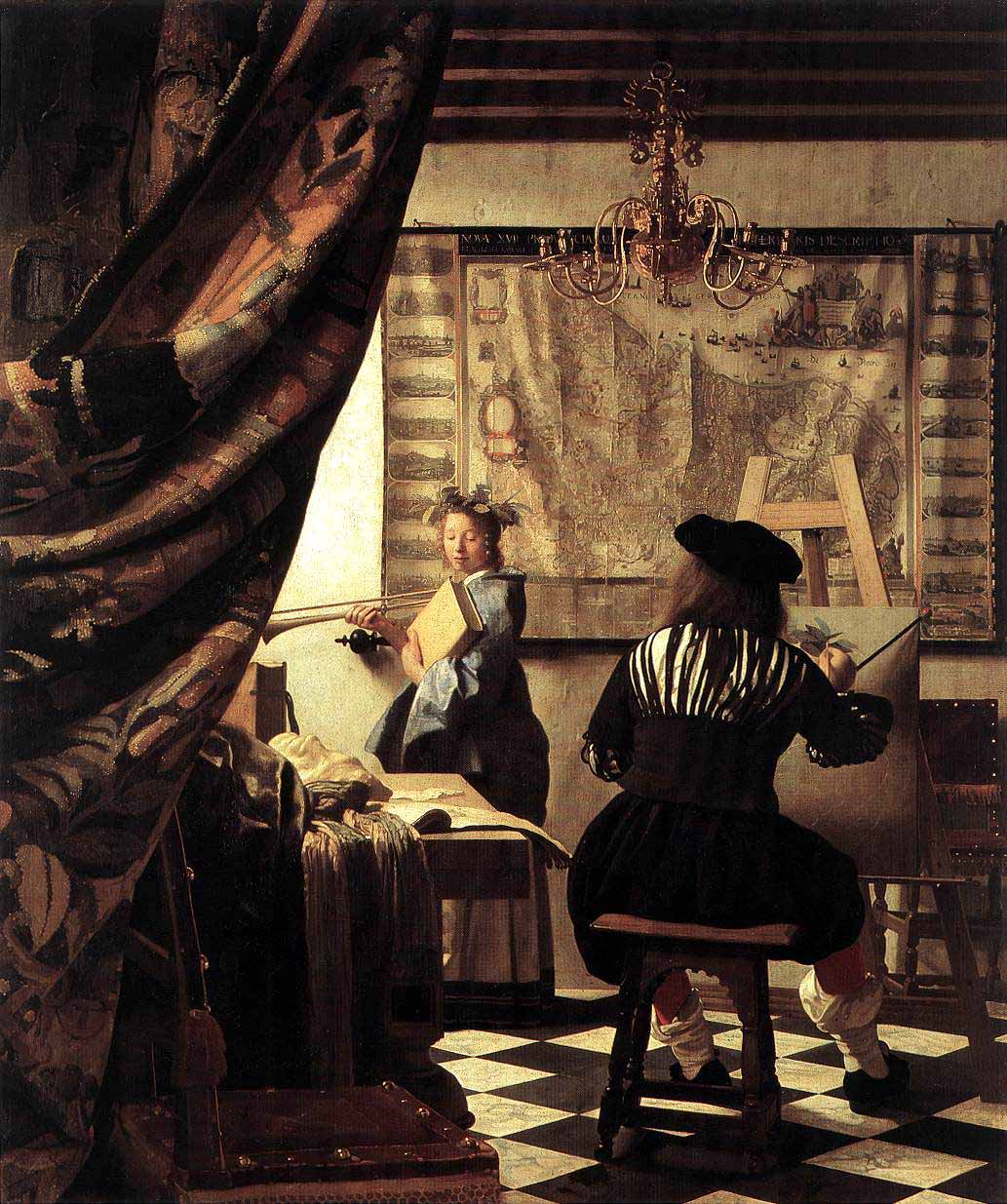 a comparasion of the twelfth night feast by jann havicksz steen and the le perspective by antoine wa