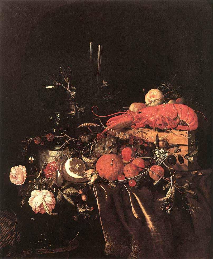 Натюрморт с фруктами, цветами, очками ...: mholland.ucoz.ru/index/jan_davids_de_khem/0-23